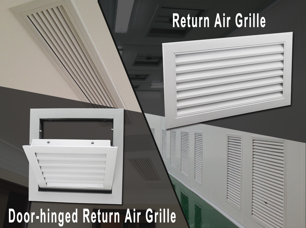 What is a return air grille?