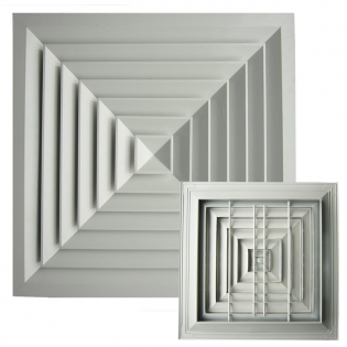 SD-A3 Square Ceiling Diffuser,broadside square diffuser,air diffuser