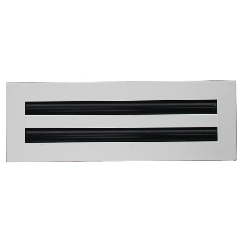 LS-A Linear slot diffuser (25mm Slot), aluminum supply slot air diffuser,  adjustable air diffuser