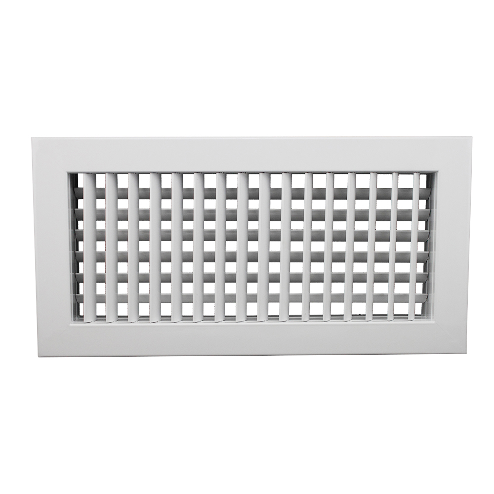 DDG-A2 Double Deflection Air grille,olive leaf grille , supply double defletion grille for side wall