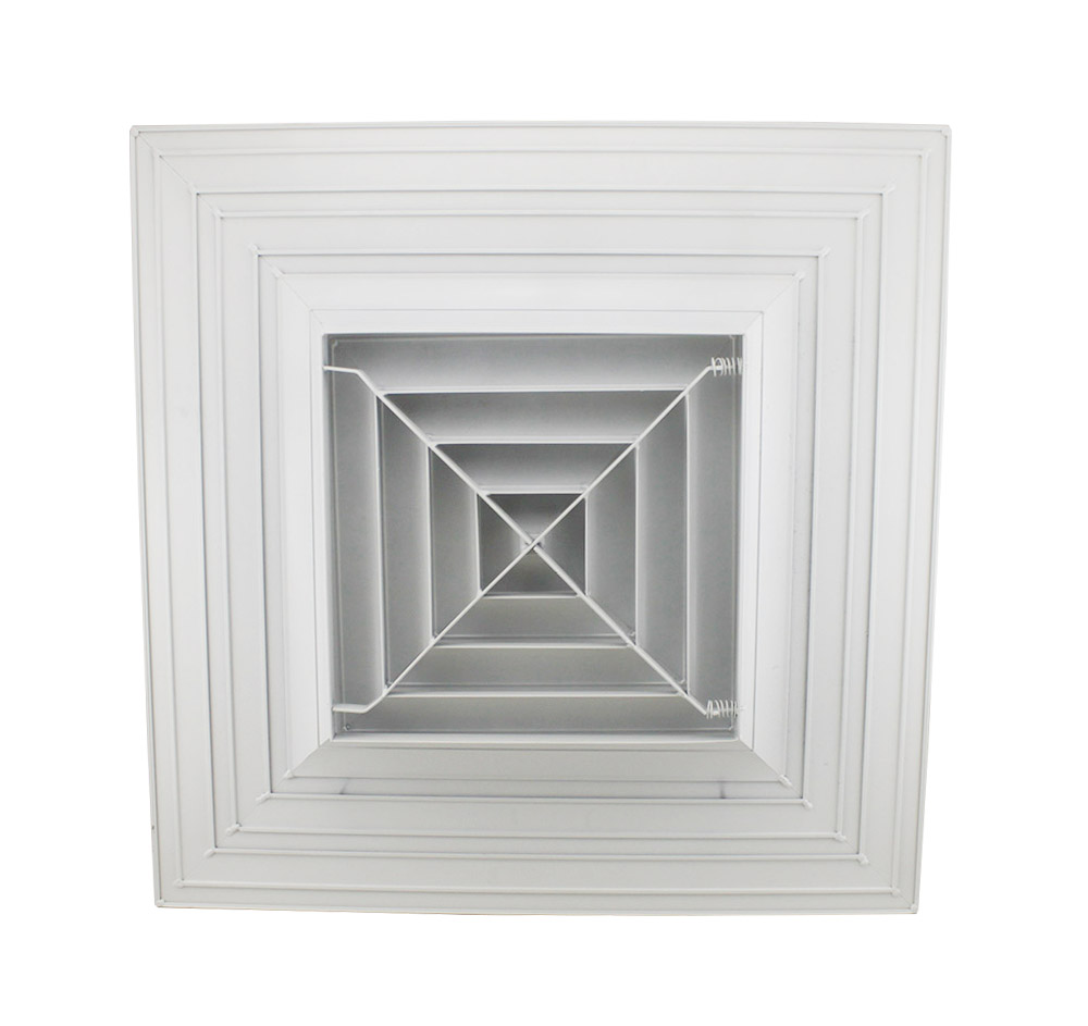 SD-A7 Square Ceiling Diffuser,air conditioning diffuser,air conditioning diffuser size