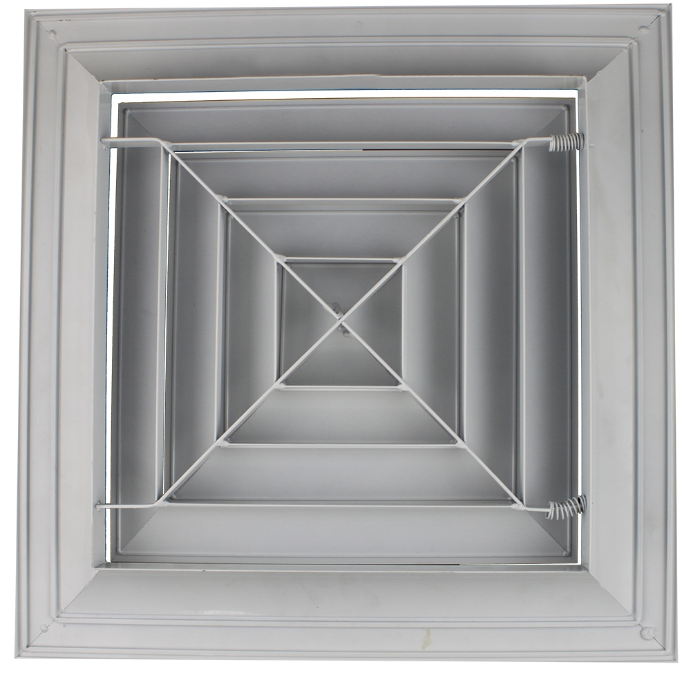 SD-A4 supply air diffuser,square air diffuser, ceiling air diffuser manufacturer in China