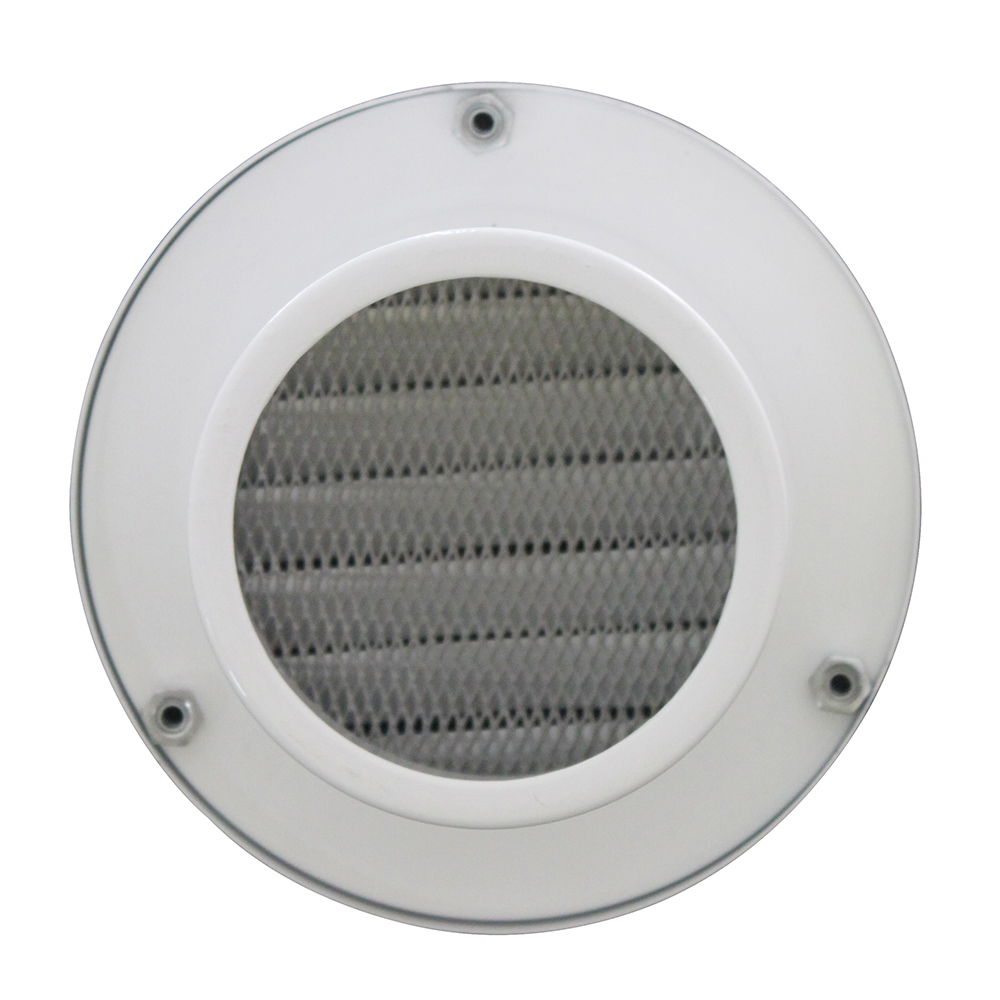 EV-AN waterproof aluminum air vent cap, air vent cap with mesh, air vent cap with louver