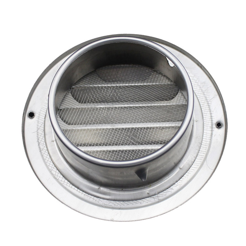 EV-CS Stainless Steel round grille air vent, corridor air vent with net
