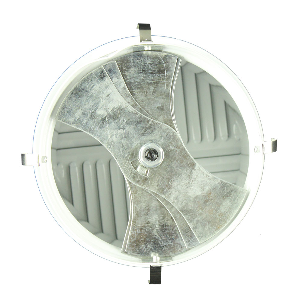 LD-R Floor air register, round aluminum alloy with powder coated