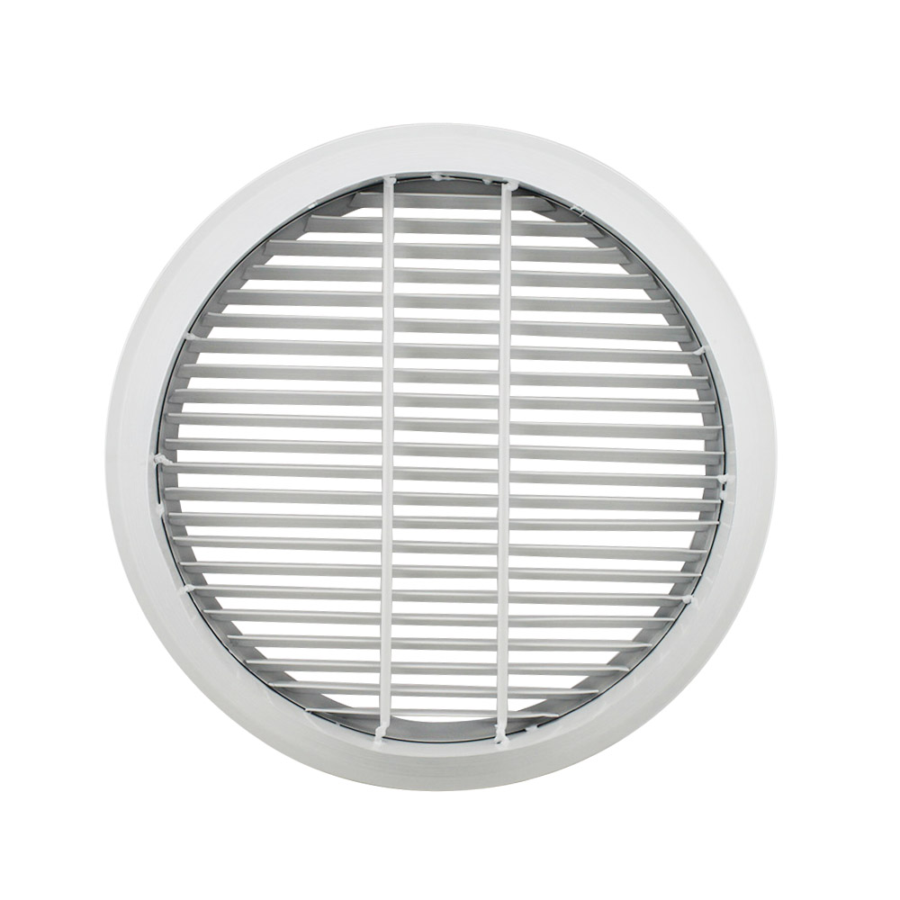 LG-R30 30 Degree Round Linear Bar Air Grille, aluminum alloy with round design