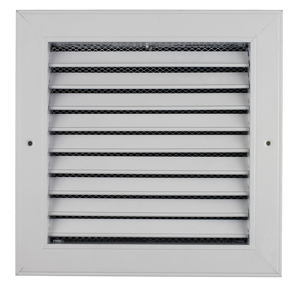 SG-FBN Single deflection air grille with net with sponge, fresh air grille, wholesale return air grille