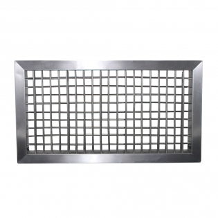 DDG-S stainless steel double deflection air grille