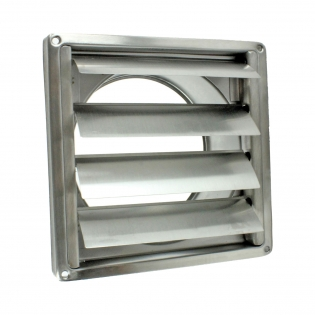 EV-DS Wall vent, Gravity louvred vent, stainless steel air vent supplier